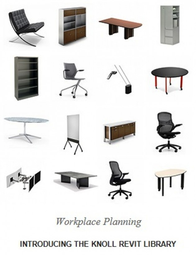 Knoll Revit Files now available