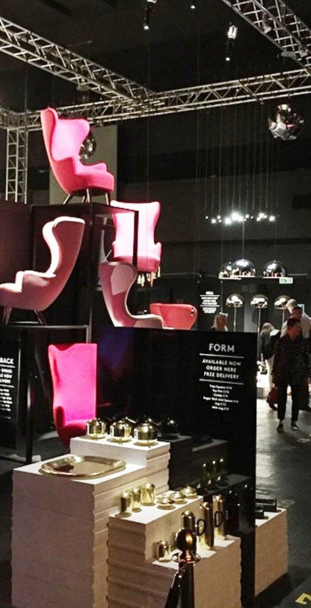 Tom Dixon Cinema @ Salone Milan 2015