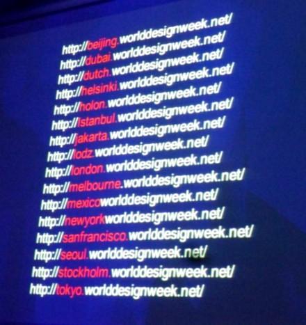 World Design Week Network @ Salone Milan 2015