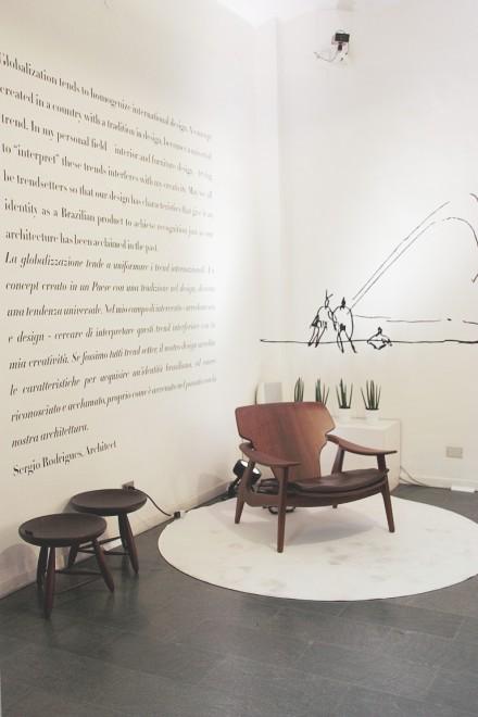 Sergio Rodrigues' Brasil @ Salone Milan 2016