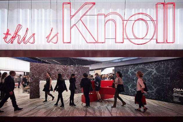 This is Knoll [pt 1/2] @ Salone Milan 2017