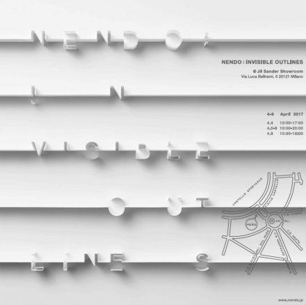 Nendo Invisble Outlines @ Salone Milan 2017