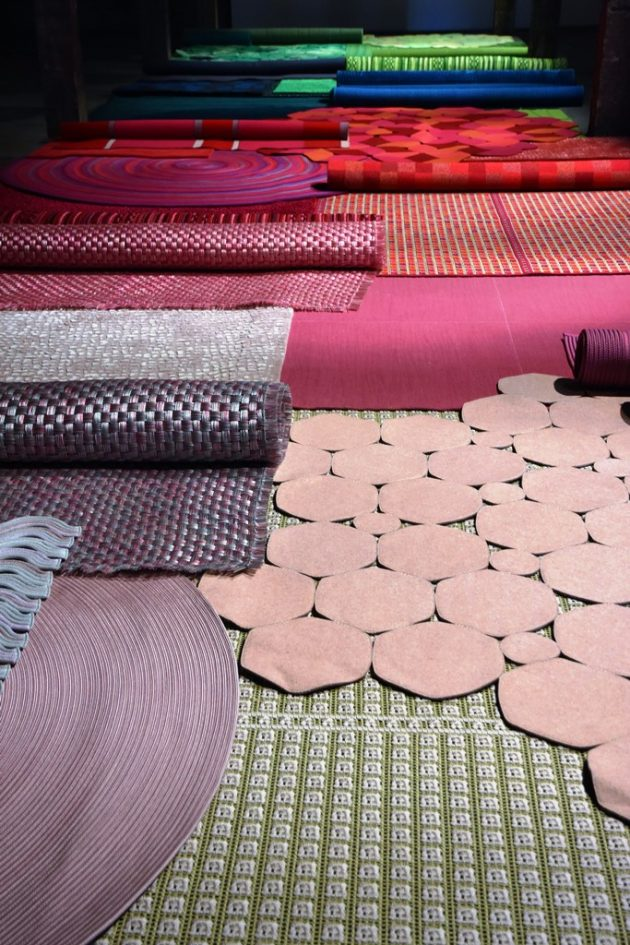 Paola Lenti Materials Rugs [pt 4/5] @ Salone Milan 2017