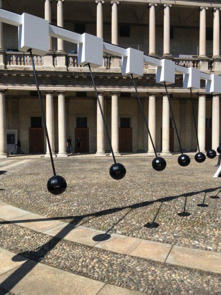Giant Pendulum @ Salone Milan 2017