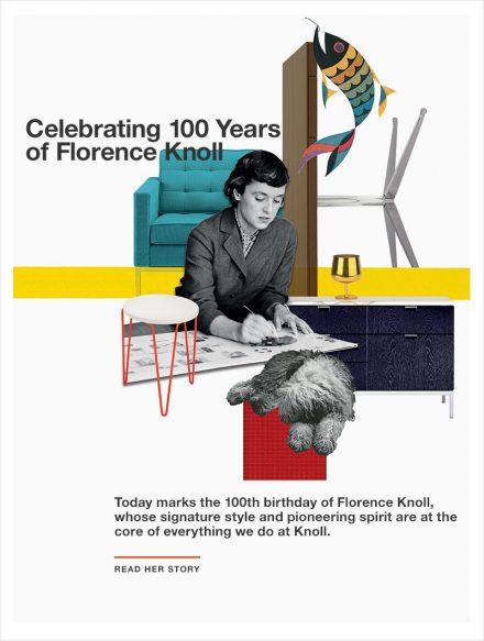 Florence Knoll Celebrates 100