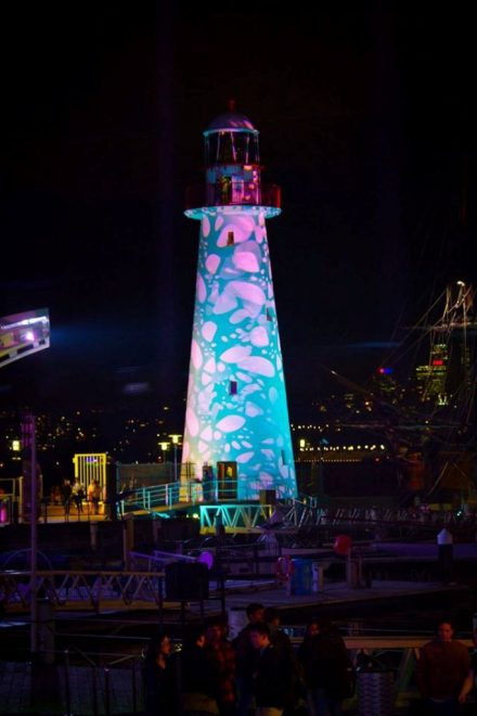 Darling Harbour Precinct @ Vivid Sydney 2017