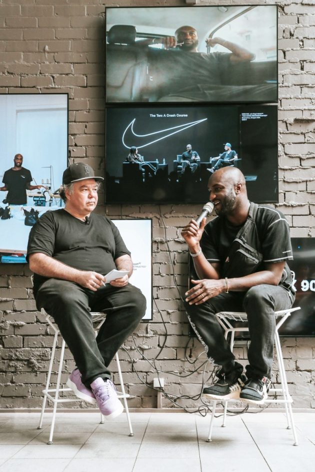 Virgil Abloh interviewed by Woody from Sneaker Freaker @ Dedece Sydney