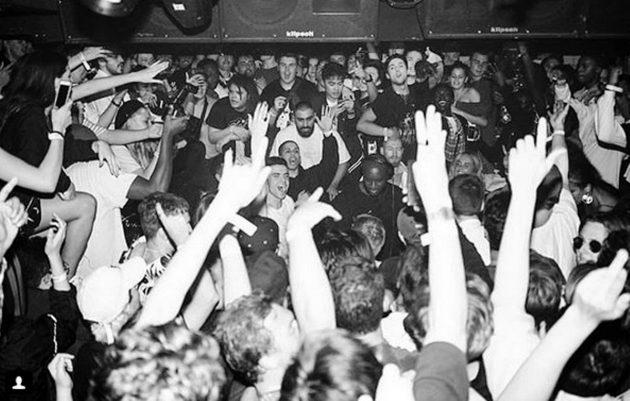 "Virgil Abloh aka ""DJ Flat White"" @ SETTINGS Civic Underground"