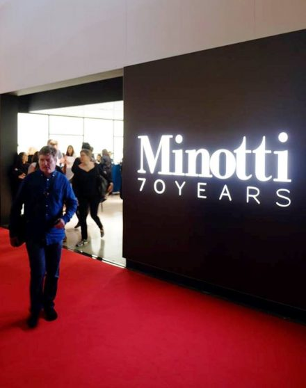"Minotti 70 ""On Stage"" @ Salone Milan 2018"