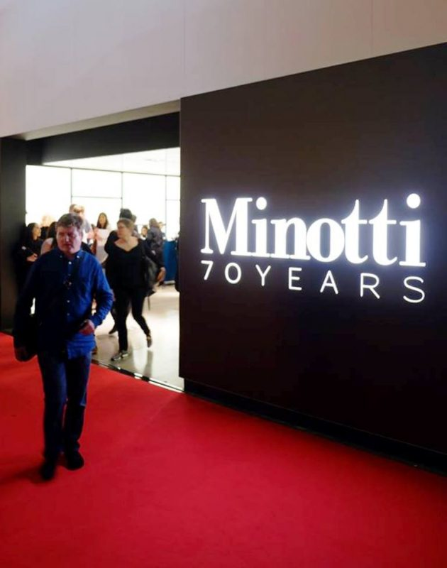 "Minotti 70 ""On Stage"" @ Salone Milan 2018"