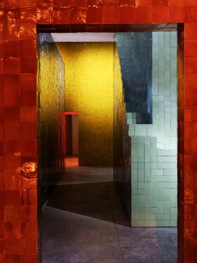 Hermès Dipped in Colour @ Salone Milan 2018