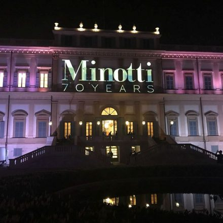 The Minotti 70th Anniversary Party @ Salone Milan 2018