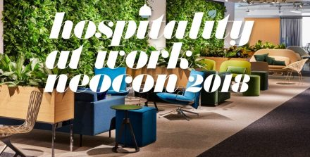 Knoll Hospitality at Work @ Neocon Chicago 2018