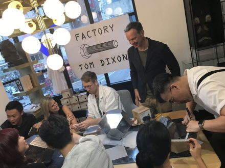Tom Dixon ( Around the World ) – Flash Factory, Hong Kong