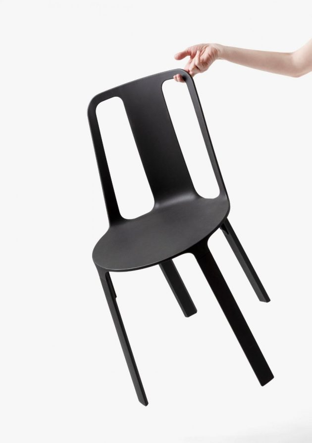 Vela – Stackable Magnesium Chair @ Salone Milan 2019