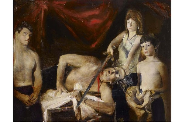 artist-and-family-after-caravaggio-by-rodney-pople