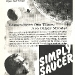 simply saucer  advert