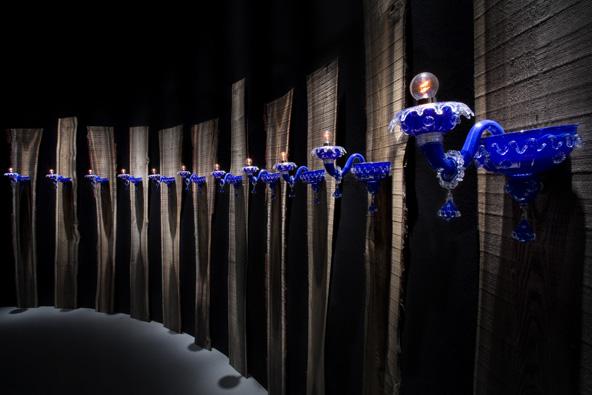 Milano Forniture Fair 2010 - Barovier & Toso installation.