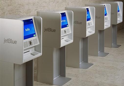 jet blue kiosks