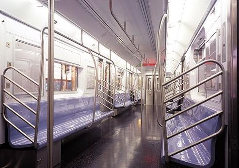 mta train interior