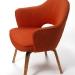 saarinen model 71 armchair 1955 using astrid sampe rugby upholstery