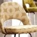saarinen execotive chair using luxe fabric 2008