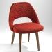 eero saarinen chair using paul maute fabric