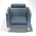 ettore sottsass chair using jhane barnes fabric