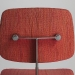 marga hiell vatter dynamic upholstery on a model 46 chair 1973