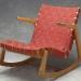 ralph rapson chair using marianne strengell webbing
