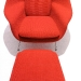 womb chair cato fabric