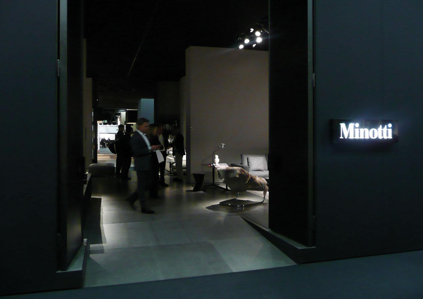 minotti @ imm cologne jan 2011