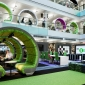 BBC North Atrium Pods – Seating by ID:SR / Sheppard Robson