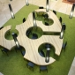 Socialization Spaces – Table by Menendez y Gamonal Arquitectos SLP