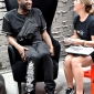 virgil abloh in tom dixon wingback chairs at dedece sydney (3)