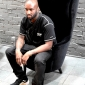 virgil abloh in tom dixon wingback chairs at dedece sydney (8)